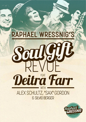 Soul Gift poster with Alex Schultz